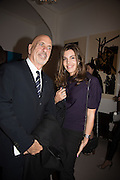 SCOTT STOVER; VICTORIA PONIATOWSKI, Stefania Pramma launched her handbag brand PRAMMA  at the Kensington residence of her twin sister, art collector Valeria Napoleone.. London.  29 April 2015