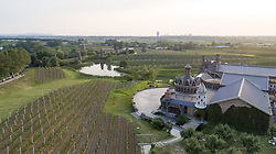 July 3, 2018 - Jilin, Jilin, China - Jilin, CHINA- The Seven Star Chateau, located in northeast China's Jilin Province, combines Chinese traditional element with western style. (Credit Image: © SIPA Asia via ZUMA Wire)