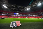 Wembley Stadium ahead of the The FA Cup 4th round replay match between Tottenham Hotspur and Newport County at Wembley Stadium, London, England on 7 February 2018. Picture by Stephen Wright.