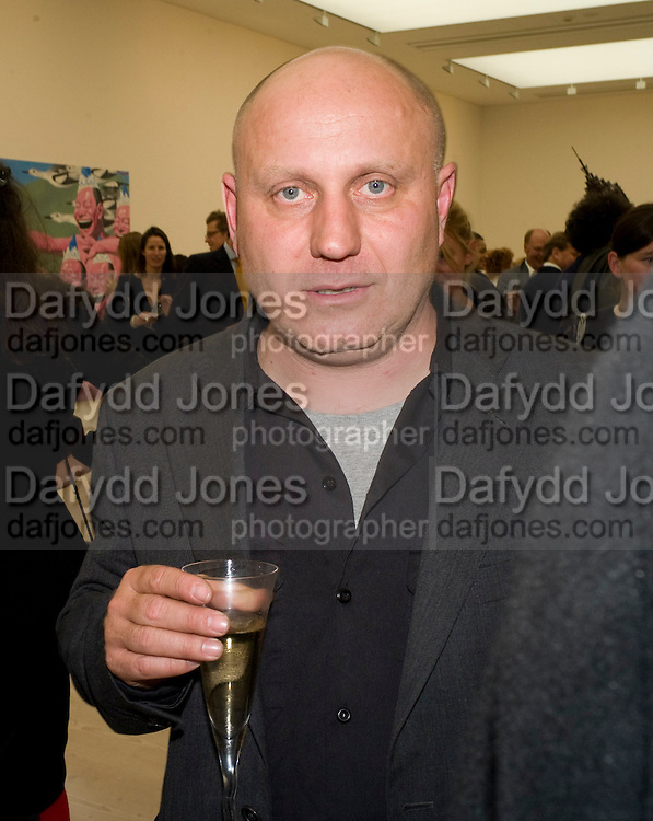 NICK WAPLINGTON, The Revolution Continues: New Art From China. The opening of the New Saatchi Gallery. King's Rd.  London. 7 October 2008. *** Local Caption *** -DO NOT ARCHIVE-© Copyright Photograph by Dafydd Jones. 248 Clapham Rd. London SW9 0PZ. Tel 0207 820 0771. www.dafjones.com.