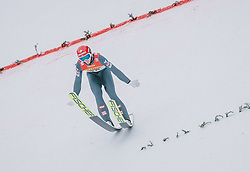 16.02.2020, Kulm, Bad Mitterndorf, AUT, FIS Ski Flug Weltcup, Kulm, Herren, im Bild Philipp Aschenwald (AUT) // Philipp Aschenwald of Austria during the men's FIS Ski Flying World Cup at the Kulm in Bad Mitterndorf, Austria on 2020/02/16. EXPA Pictures © 2020, PhotoCredit: EXPA/ JFK