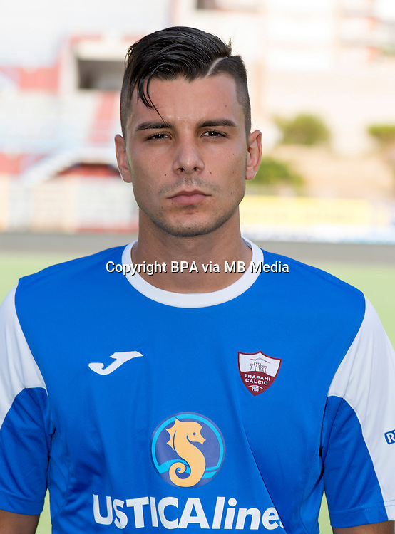 Italian League Serie B_2015-2016 / <br /> ( Trapani Calcio 1905 ) -  <br /> Emanuele Geria