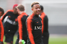 Netherlands Training and Press Conference - 15 October 2018