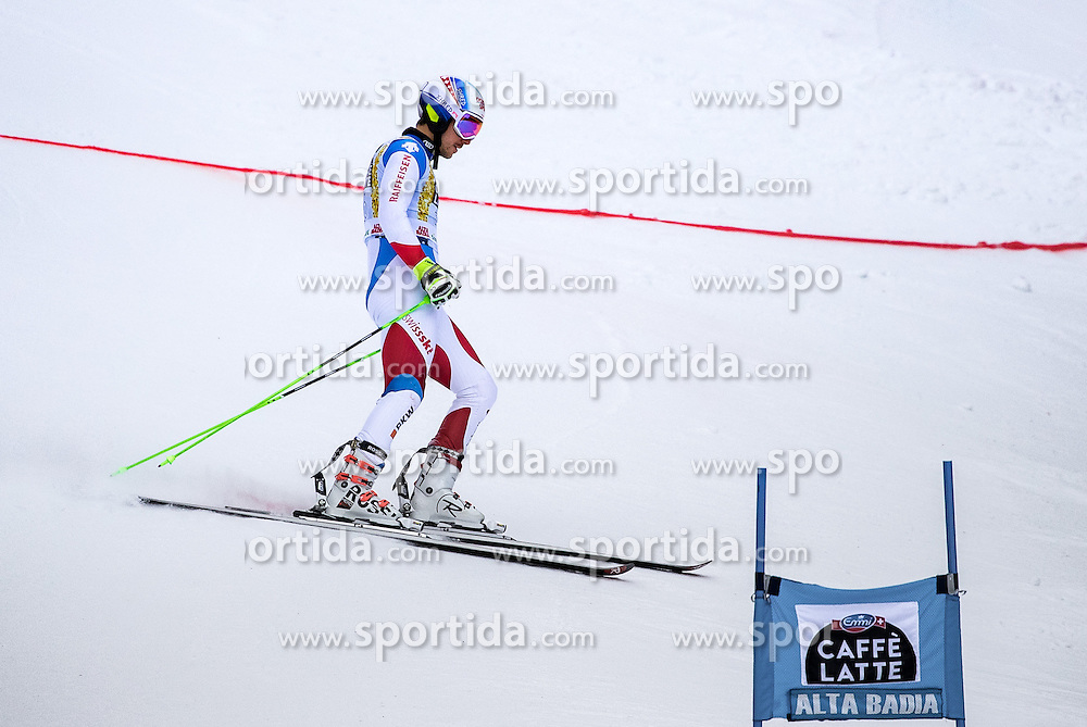 19.12.2016, Grand Risa, La Villa, ITA, FIS Ski Weltcup, Alta Badia, Riesenslalom, Herren, 1. Lauf, im Bild Carlo Janka (SUI) // Carlo Janka of Switzerland in action during 1st run of men's Giant Slalom of FIS ski alpine world cup at the Grand Risa race Course in La Villa, Italy on 2016/12/19. EXPA Pictures © 2016, PhotoCredit: EXPA/ Johann Groder
