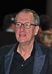 "© licensed to London News Pictures. London, UK  12/05/11 Geoffrey Rush attends the UK premiere of Pirates of the Carribean 4 ""on Stranger Tides"" at Londons Westfield . Please see special instructions for usage rates. Photo credit should read AlanRoxborough/LNP"