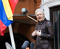 2017-05-19 Julian assange addresses press after dropping of Swedish rape charges