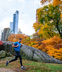 03-11-2018 USA: NYC Marathon We Run 2 Change Diabetes day 2, New York<br /> day before the marathon the usual photo shoot in Central Park /