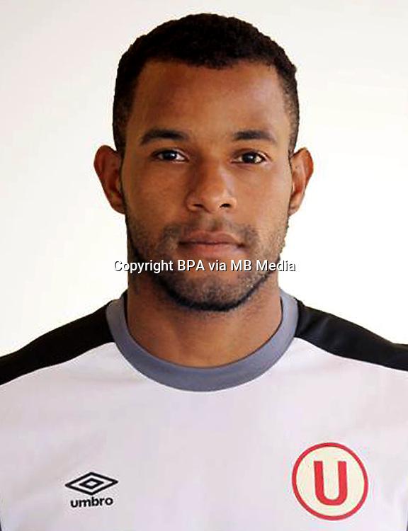 Football - Peruvian League Descentralizado - <br /> Movistar Trophy 2016 - Abertura Tournament / <br /> Club Universitario De Deportes Lima - <br /> Carlos Caceda