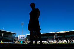 Tom Howe of Worcester Warriors arrives at Franklins Gardens for the Aviva Premiership fixture against Northampton Saints - Mandatory by-line: Robbie Stephenson/JMP - 05/05/2018 - RUGBY - Franklin's Gardens - Northampton, England - Northampton Saints v Worcester Warriors - Aviva Premiership