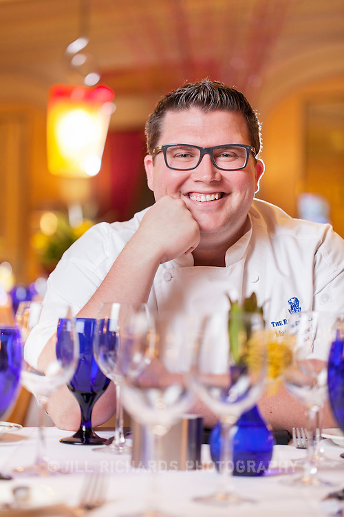 Chef Matthew Ludwig, of Bistro 24 at Ritz-Carlton, located at 2401 East Camelback Road, Phoenix, AZ 85016.