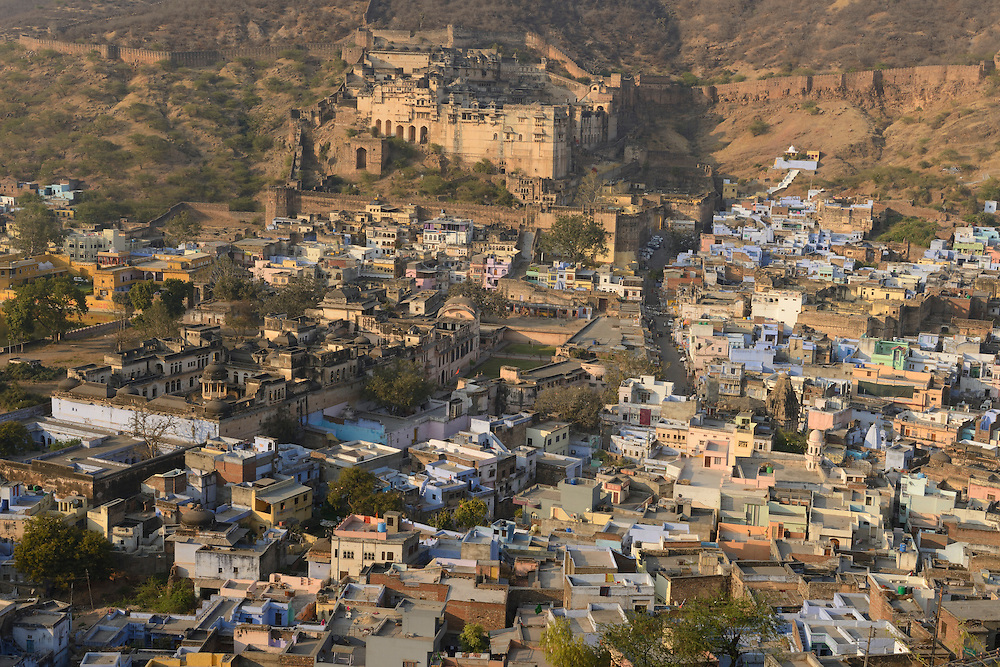 City of Bundi, Rajasthan,India,Asia.