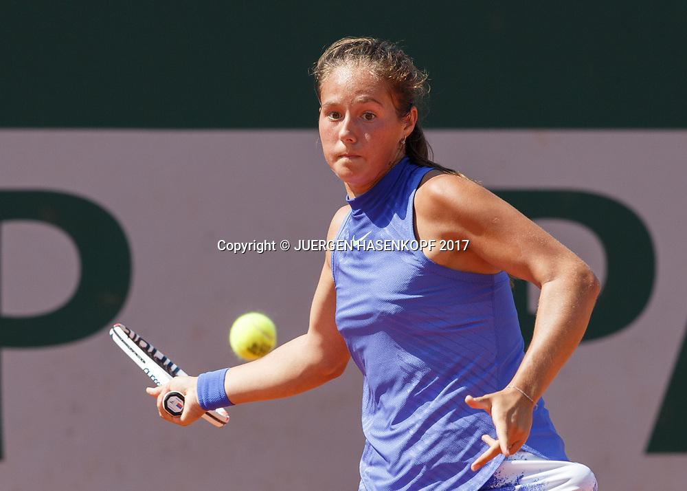 DARIA KASATKINA (RUS)<br /> <br /> Tennis - French Open 2017 - Grand Slam ATP / WTA -  Roland Garros - Paris -  - France  - 1 June 2017.