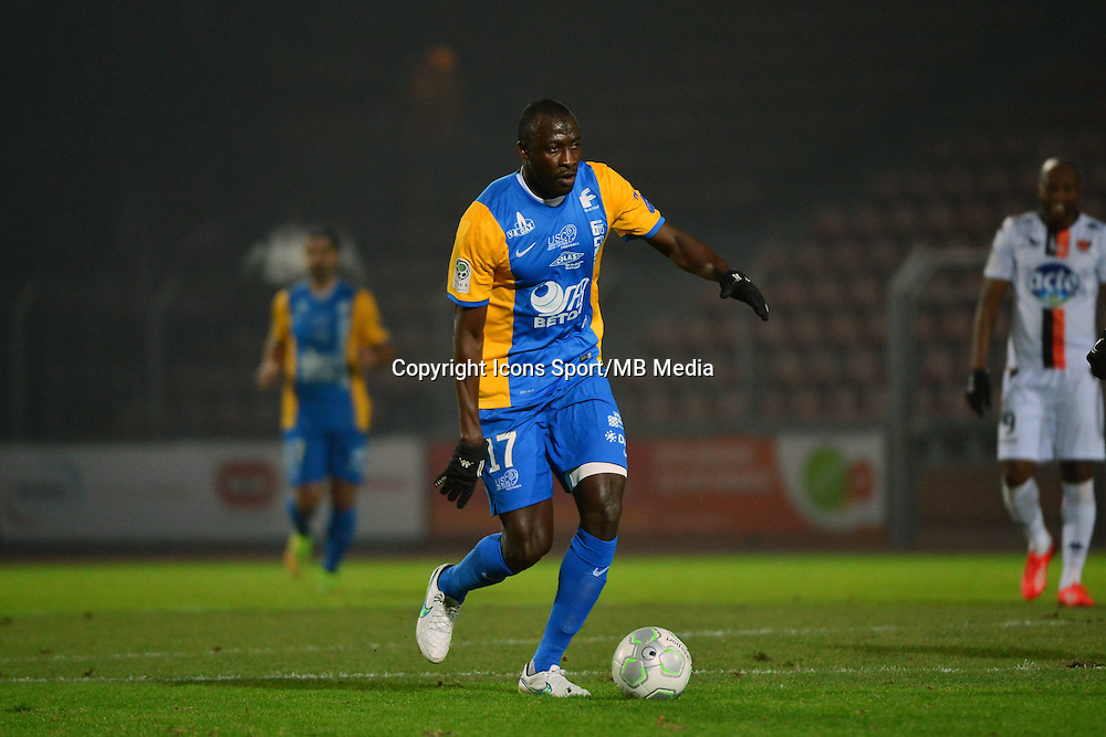 Cheikh NDOYE - 23.01.2015 - Creteil / Laval - 21eme journee de Ligue 2<br /> Photo : Dave Winter / Icon Sport