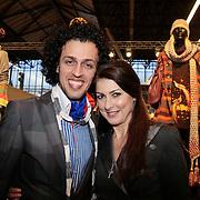 NLD/Amsterdam/20110124 - Josh V VIP Launch Modefabriek RAI, Sepehr Maghsoudi en Euvgenia Parakhina