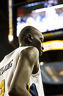 26 January 2010:  Toledo's Justin Anyijong (1) during the NCAA basketball game between Kent State and the Toledo Rockets at Savage Arena in Toledo, OH.