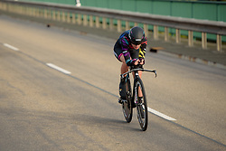 Hannah Barnes (CANYON//SRAM Racing) at Thüringen Rundfarht 2016 - Stage 4 a 19km time trial starting and finishing in Zeulenroda Triebes, Germany on 18th July 2016.