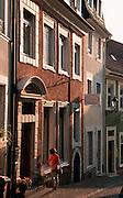 Deutschland, Germany,Baden-Wuerttemberg.Schwarzwald.Baden-Baden, Altstadtgasse.Black Forest, Baden-Baden, old town...