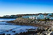 Oceanfront RV park , York, Maine, USA