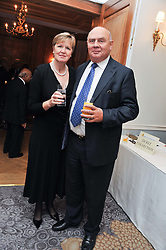 LORD & LADY EDMISTON at the 4th Fortune Forum Summit held at The Dorchester Hotel, Park Lane, London on 4th December 2012.