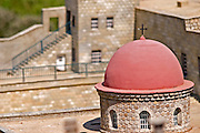 Replica of the Church of the Holy Sepulcher, Jerusalem at Mini Israel, Mini Israel is a park of scaled down models of sites and building in Israel, All models are exact copies of  the sites, buildings and landscapes from around the country built at a scale of 1:25