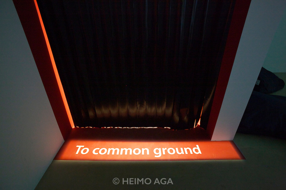 "13th Biennale of Architecture..Giardini..French Pavillion..""To common ground""."