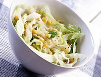 Studio shot iof spring salad