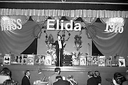 """Miss Elida"" Final At Mosney, Co Meath..1976..01.09.1976..09.01.1976..1st September 1976..The final of the ""Miss Elida"" lovely hair competition was held in The Gaiety Theatre,Butlins Holiday Centre,Mosney,Co Meath tonight. The competition is sponsored by Lever Bros,Sheriff St,Dublin. The shows compere was Mr Mike Murphy..Picture shows compere,Mike Murphy,introducing the show."