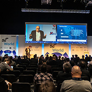 Speaker John Barker at 5G World Day Two at Excel London,on 12 June 2019, UK.