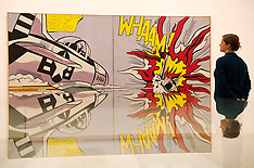 FEB 18 2013 Tate Modern, Press Preview for 'Lichtenstein: A Retrospective'