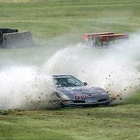 23-25 June, 2006, Cleveland, Ohio, USA<br /> Bill &quot;Mud Nuts&quot; Lex and his wacky mudboggin' Vette.<br /> &copy; 2006 Phillip Abbott/USA<br /> LAT Photographic
