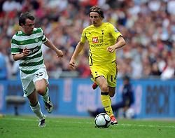 Luka Modric.Tottenham Hotspur 2009/10.Tottenham Hotspur V Celtic (0-2) 26/07/09.The Wembley Cup at Wembley Stadium.