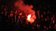 FUDBAL, BEOGRAD, 06. Nov. 2010. - Navijaci Crvene zvezde.   Utakmica 11. kola Jelen Superlige Srbije (2010/2011) izmedju Crvene zvezde i OFK Beograda. Foto: Nenad Negovanovic