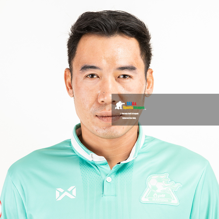 THAILAND - JUNE 09: Pattarat Piyapatkiti #1 of PTT Rayong FC on June 09, 2019.<br /> .<br /> .<br /> .<br /> (Photo by: Naratip Golf Srisupab/SEALs Sports Images/MB Media Solutions)