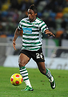 20090425: The Portuguese League is home to a growing number of African, Brazilian and Argentinean promising young players. ***FILE PHOTO*** 20081109: LISBON, PORTUGAL - Sporting Lisbon vs FC Porto: Portuguese Cup 2008/2009. In picture: Yannick Djalo (Sporting). PHOTO: Alvaro Isidoro/Cityfiles