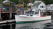 lobster boat at New Harbor