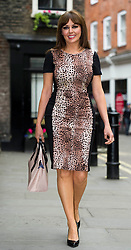 Carol Vorderman models latest collection from isme.com collection, London, UK, May 22, 2013. Photo by:  i-Images