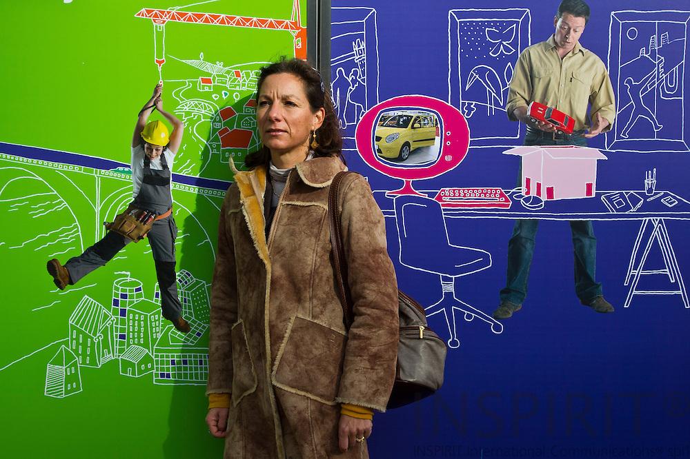 BRUSSELS - BELGIUM - 27 OCTOBER 2010-- Evelyne Schellekens, generalsekretær i den europæiske organisation for elinstallatører, AIE - European Association of Electrical Contractors. PHOTO: ERIK LUNTANG / NATO Photo.