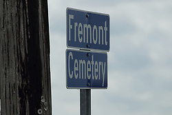 Freemont Cemetery in McLean County, east of McLean.