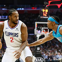 10-28 CHARLOTTE HORNETS AT LA CLIPPERS