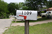 Mail box in Round Rock, Texas