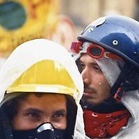 Praga, 9.2000. Manifestazioni