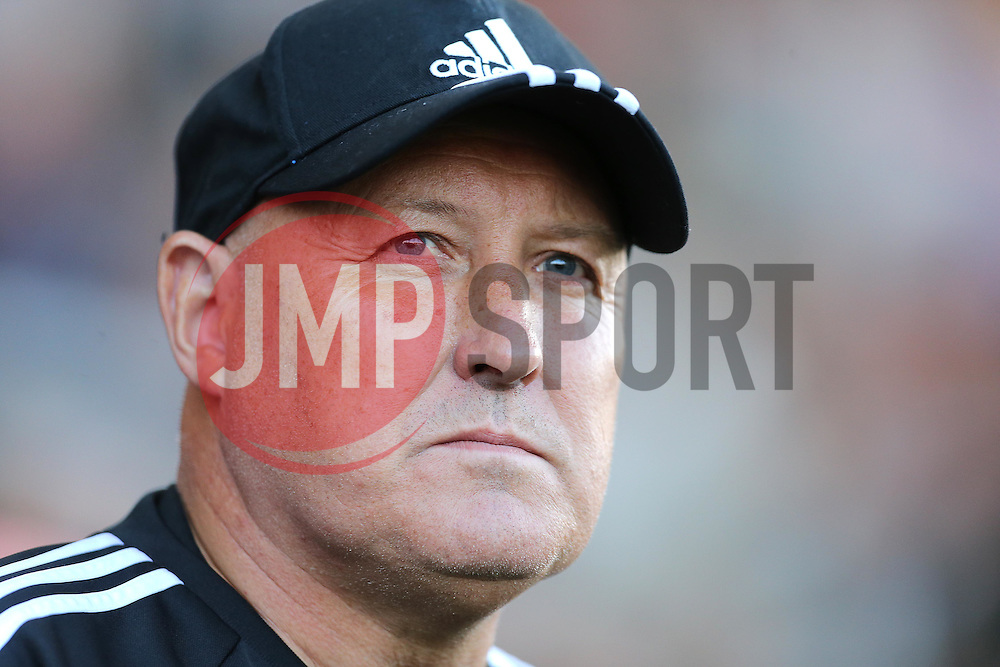 Cardiff City Manager, Russell Slade  - Mandatory by-line: Paul Terry/JMP - 07966386802 - 31/07/2015 - SPORT - FOOTBALL - Bournemouth,England - Dean Court - AFC Bournemouth v Cardiff City - Pre-Season Friendly