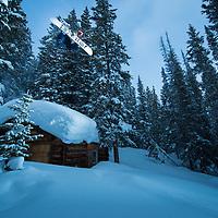 Snowboarding Colorado Backcountry