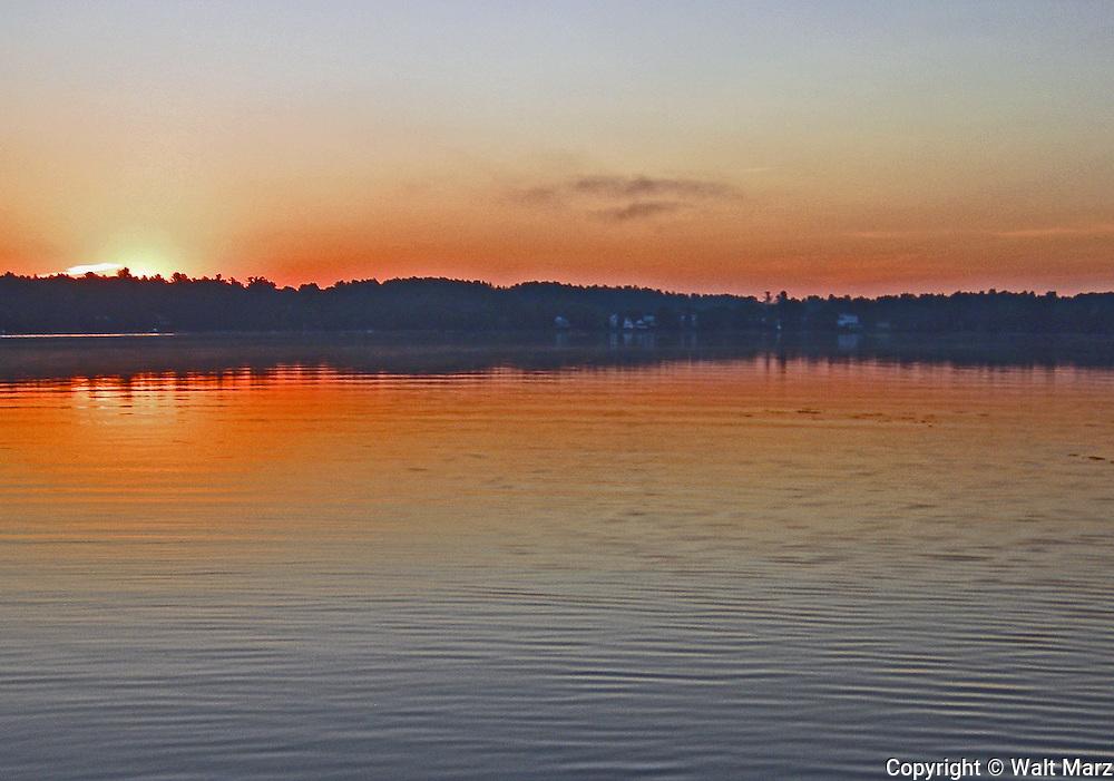 Sunrise over Belgrade Villege  @ 5:21 am, 9/17/2015