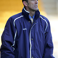 St Johnstone v Airdrie United..23.04.05<br />New St Johnstone boss Owen Coyle<br /><br />Picture by Graeme Hart.<br />Copyright Perthshire Picture Agency<br />Tel: 01738 623350  Mobile: 07990 594431