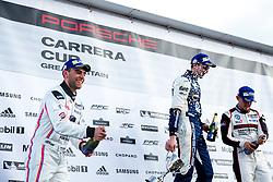 Dino Zamparelli | Team JTR | #8 Porsche 911 GT3 Cup | Porsche Carrera Cup GB | Race 2 - Rogan Thomson/JMP - 02/04/2017 - MOTORSPORT - Brands Hatch Indy Circuit - Longfield, England - BTCC Round 1.
