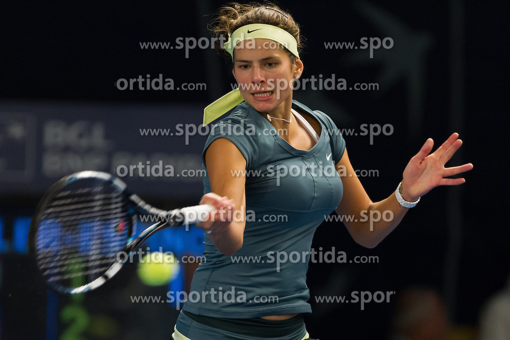 17.10.2012, CK Sports Center, Kockelscheuer, LUX, WTA, BGL BNP Paribas Luxemburg Open, im Bild Julia GOERGES (GER) // during the WTA BGL BNP Paribas Luxembourg Open at the CK Sports Center at Kockelscheuer, Luxembourg on 2012/10/17. EXPA Pictures © 2012, PhotoCredit: EXPA/ Eibner/ Alexander Neis..***** ATTENTION - OUT OF GER *****