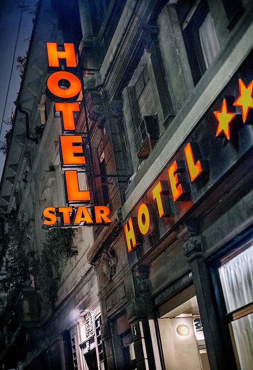 Hotel near the duomo in Milan, Italy