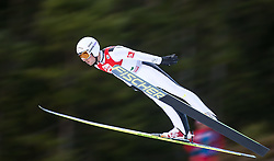 19.12.2014, Nordische Arena, Ramsau, AUT, FIS Nordische Kombination Weltcup, Skisprung, PCR, im Bild Francois Braud (FRA) // during Ski Jumping of FIS Nordic Combined World Cup, at the Nordic Arena in Ramsau, Austria on 2014/12/19. EXPA Pictures © 2014, EXPA/ JFK