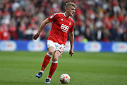 Nottingham Forest defender Joe Warrall (42) during the EFL Sky Bet Championship match between Nottingham Forest and Reading at the City Ground, Nottingham, England on 22 April 2017. Photo by Jon Hobley.